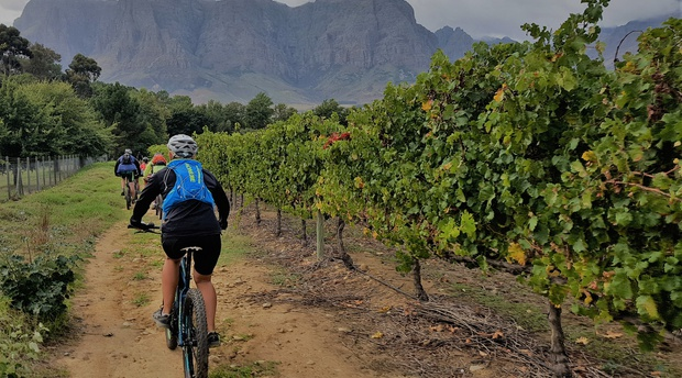 lockdown coronavirus covid19 covid cycle cycling walking walk jogging jog mountain outdoors outside jonkershoek nature reserve hike hiking waterfall fresh air vineyards vineyard free freedom fresh air